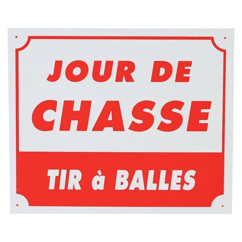 Panneau Signalisation Januel Jour De Chasse Tir A Balles