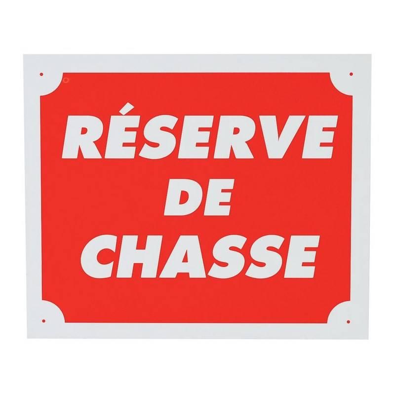 Panneau Signalisation Januel Reserve De Chasse