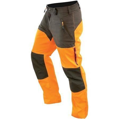 Pantalon De Traque Femme Hart Wild-T - Orange/Kaki