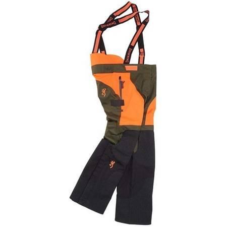 Pantalon De Traque Homme Browning Tracker Pro - Orange Et Vert