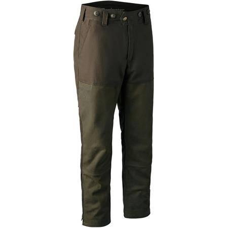 Pantalon De Traque Homme Deerhunter Marseille Leather Mix Boot Trousers - Walnut