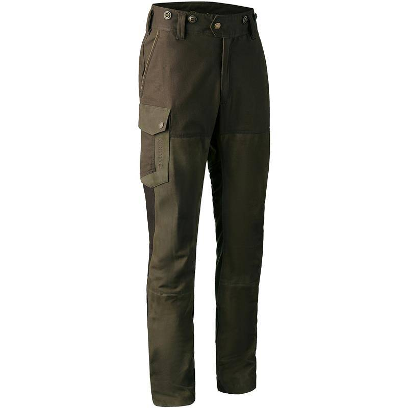 Pantalon De Traque Homme Deerhunter Marseille Leather Mix Trousers - Walnut