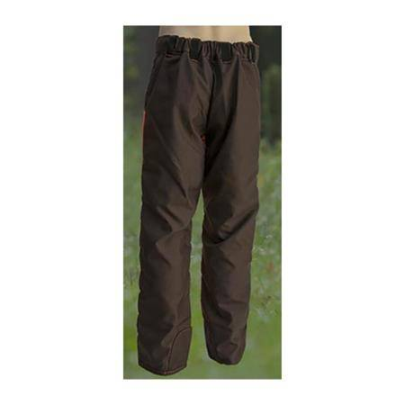 Pantalon De Traque Homme F.P Concepts Cayenne Enduit Devant - Marron