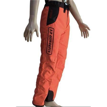 Pantalon De Traque Homme F.P Concepts Cayenne Enduit Devant - Orange