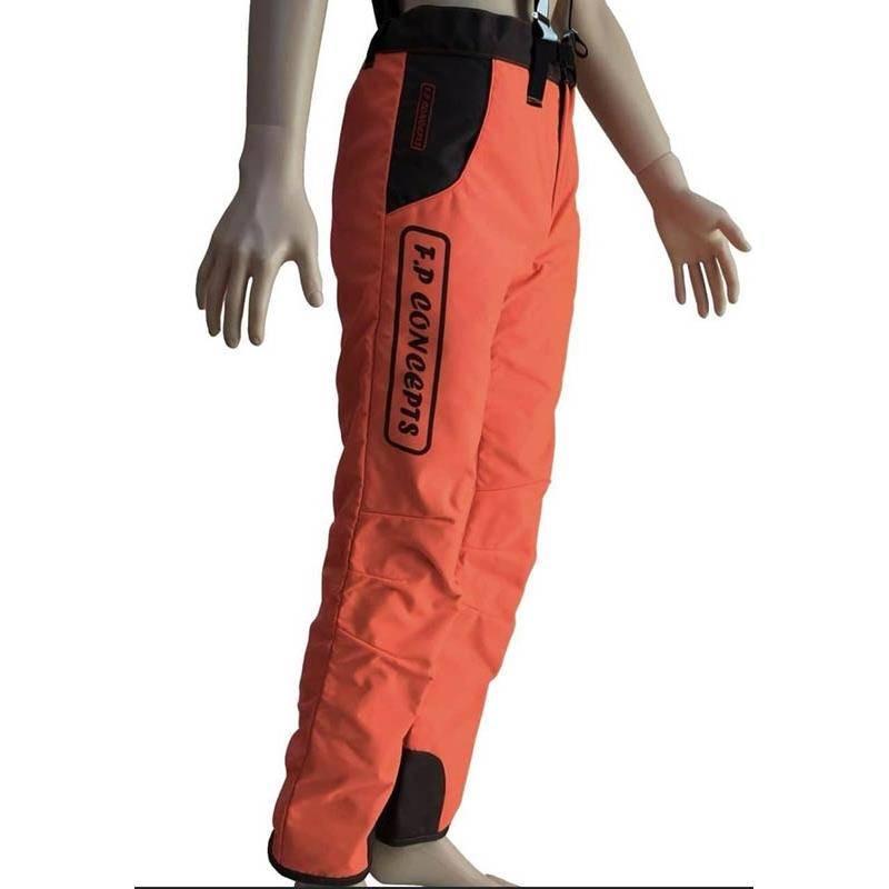 Pantalon De Traque Homme F.P Concepts Cayenne Tout Enduit - Orange