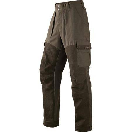 PANTALON DE TRAQUE HOMME HARKILA PRO HUNTER X LEATHER - MARRON