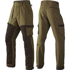 Pantalon de traque homme harkila pro hunter x leather - vert