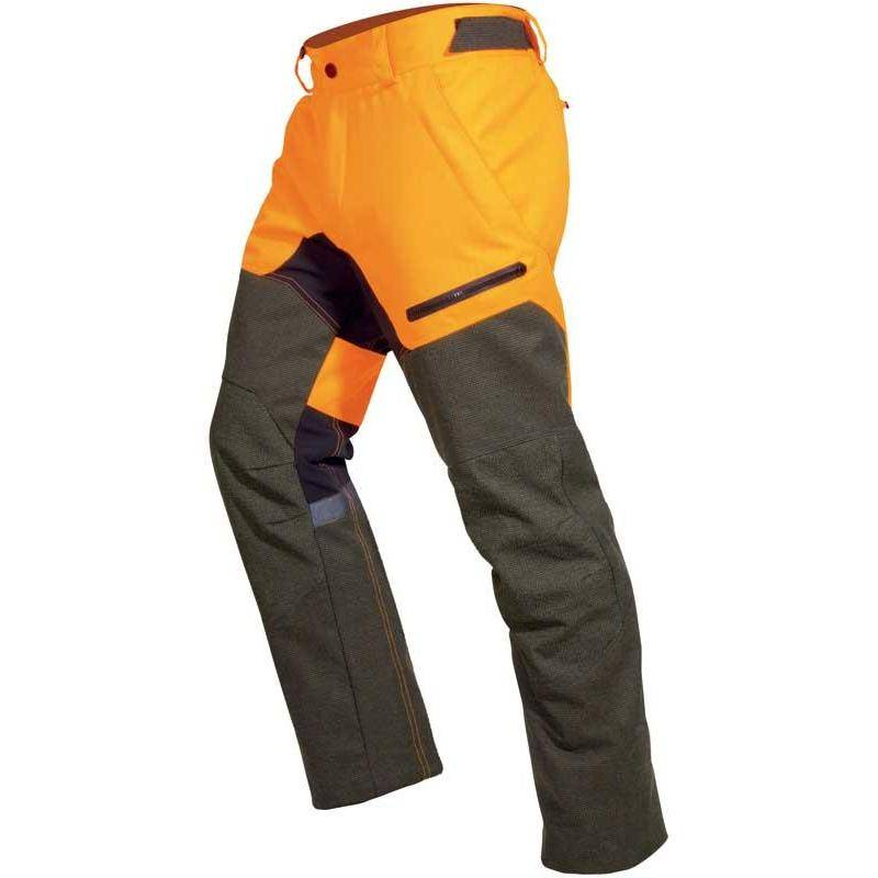 PANTALON DE TRAQUE HOMME HART IRON XTREME-T - VERT/ORANGE - 52