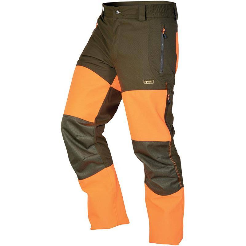 Pantalon De Traque Homme Hart Kurgan-T - Vert/Orange