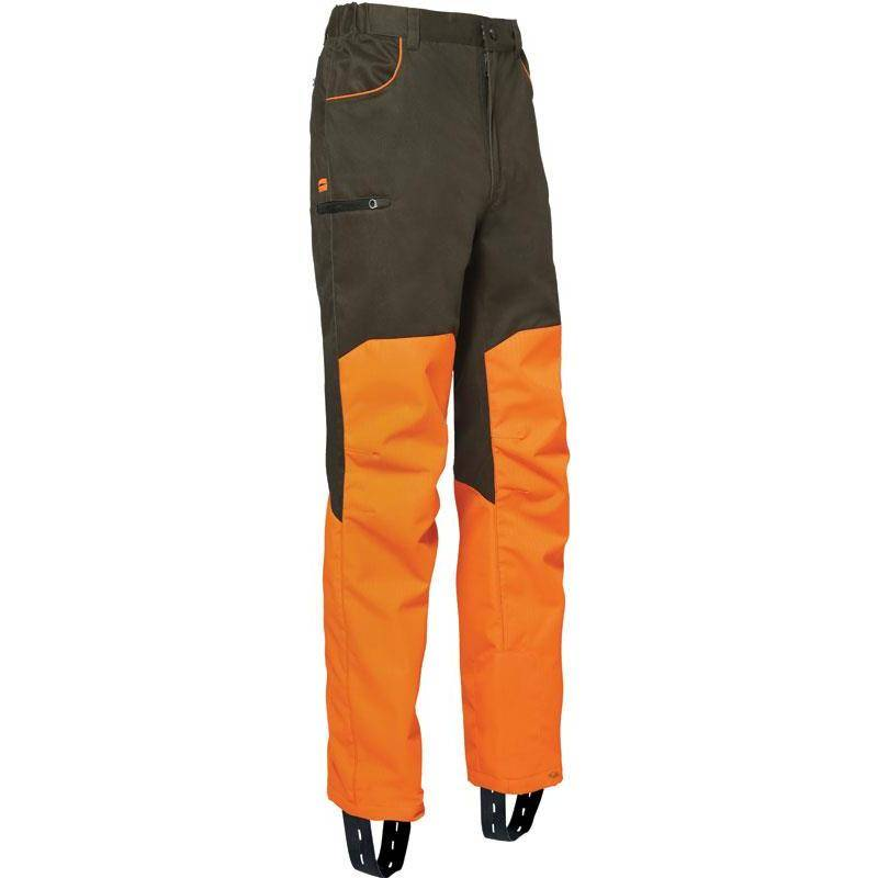 Pantalon De Traque Homme Ligne Verney-Carron Super Pant Rapace - Kaki/Orange
