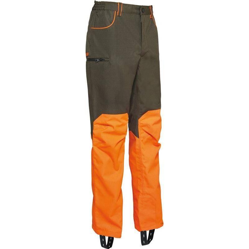 Pantalon De Traque Homme Ligne Verney-Carron Wp Rapace - Kaki/Orange