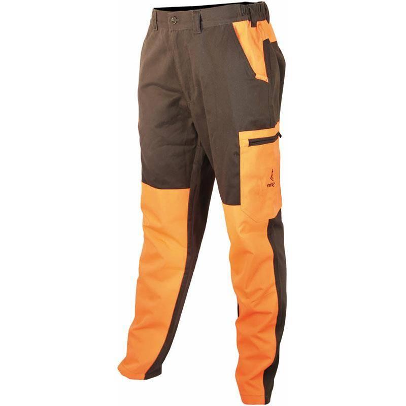 Pantalon De Traque Homme Treeland T581 - Vert/Orange