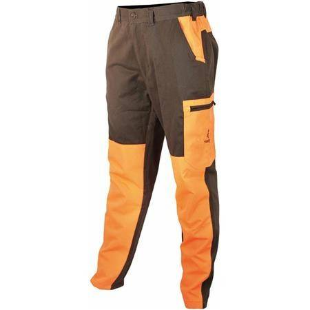 Pantalon De Traque Junior Treeland T581k - Vert/Orange