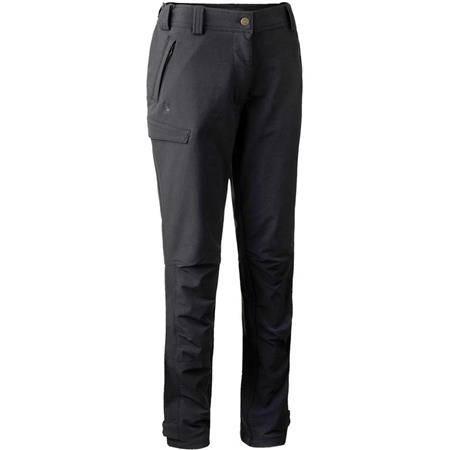 Pantalon Femme Deerhunter Lady Ann Full Stretch Trousers - Black