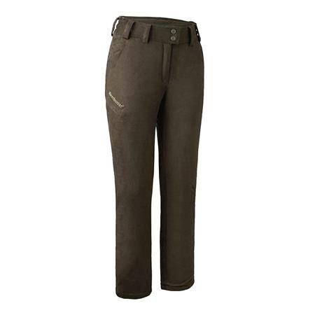 Pantalon Femme Deerhunter Lady Estelle Winter - Marron