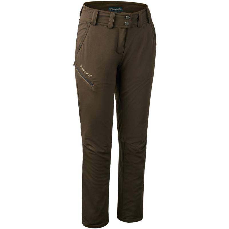PANTALON FEMME DEERHUNTER LADY MARY TROUSERS - ART GREEN - 38