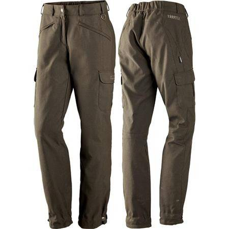 PANTALON FEMME HARKILA PRO HUNTER X LADY - MARRON