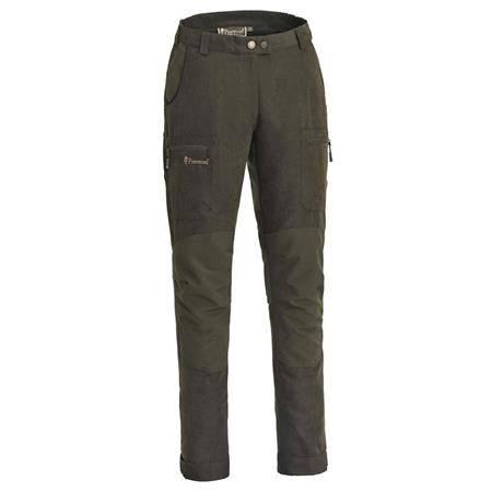 Pantalon Femme Pinewood Caribou Hunt Trs Wmn Suede - Marron