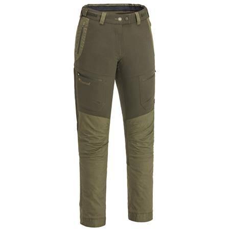 Pantalon Femme Pinewood Finnveden Hybrid Ext Trs Wmn - Olive