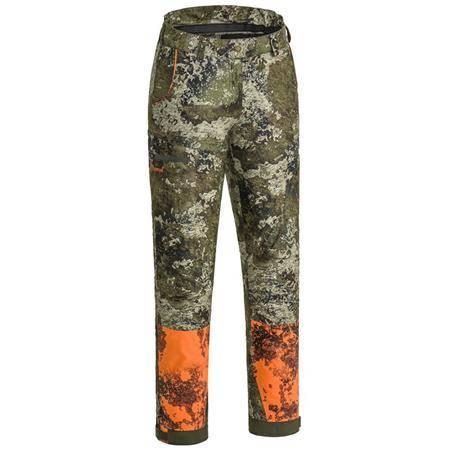 Pantalon Femme Pinewood Furudal/Retriever Active Camou Trs W - Camo Vert/Orange