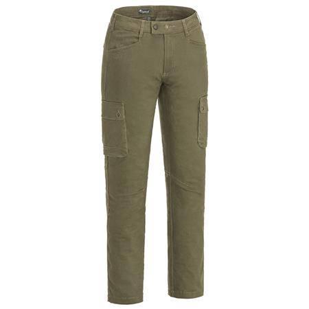 Pantalon Femme Pinewood Värnamo/Serengeti Trs Wmn - Olive