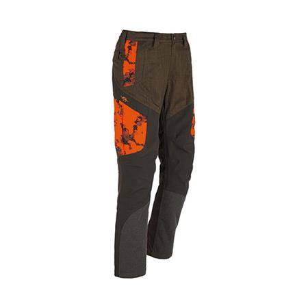 PANTALON HOMME BLASER HYBRID - CAMO ORANGE/MARRON