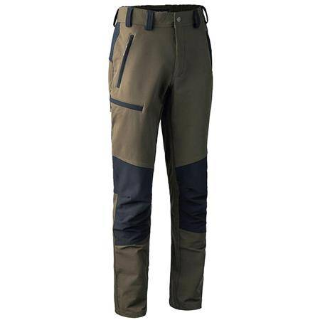 Pantalon Homme Deerhunter Strike Full Stretch - Kaki/Noir