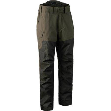 PANTALON HOMME DEERHUNTER UPLAND TROUSERS RENFORCE - CANTEEN