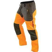 Pantalon homme hart wild-t - kaki/orange