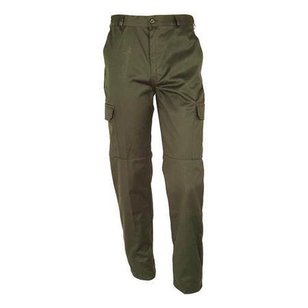 Pantalon Homme Idaho Basic Polycoton - Kaki