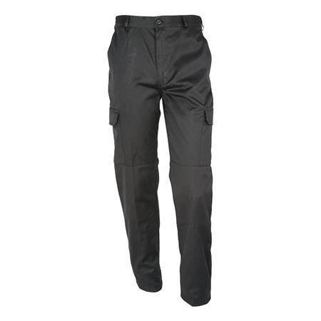 Pantalon Homme Idaho Basic Polycoton - Noir