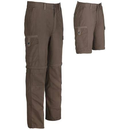 Pantalon Homme Idaho Guernsey Transformable - Marron