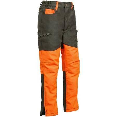 Pantalon Junior Percussion Stronger - Kaki/Orange