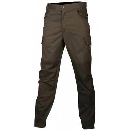 Pantalon Junior Treeland T562nk Déperlant Doublé Polaire - Noir