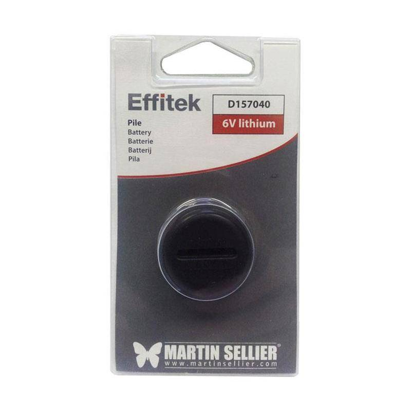 Pile Lithium Martin Sellier Pour Effitek One