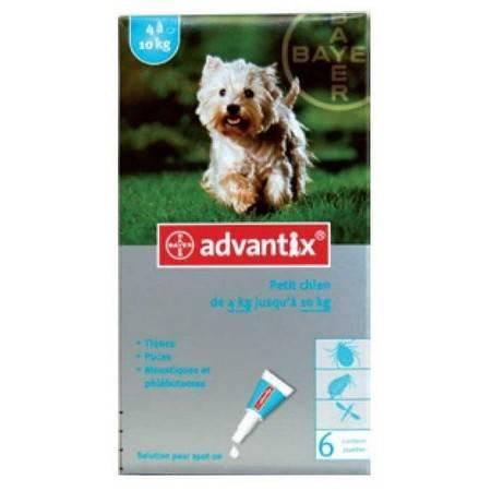 Pipette Insecticide Bayer Advantix 100 Petit Chien 2-10Kg