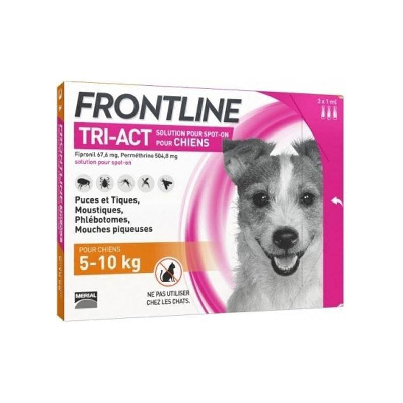 Pipette Insecticide Frontline Tri-Act S 5-10Kg