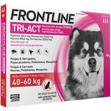 Pipette Insecticide Frontline Tri-Act Xl 40-60Kg