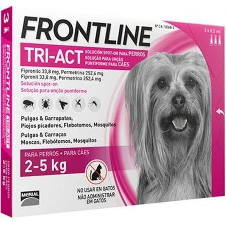 Pipette Insecticide Frontline Tri-Act Xs 2-5Kg