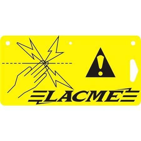 Plaque Signaletique Lacme - Par 10