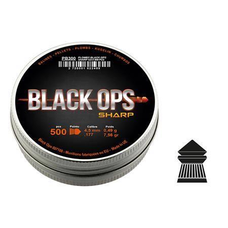 Plomb Pour Carabine Black Ops - Calibre 4.5
