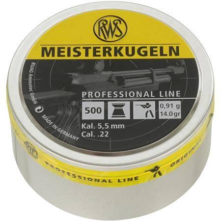 PLOMB POUR CARABINE RWS MEISTERKUGELN - CALIBRE 5.5 MM