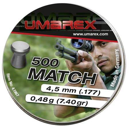 Plomb Pour Carabine Umarex Match - Calibre 4.5 Mm