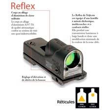 Point rouge trijicon reflex