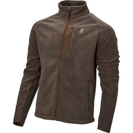Polaire Homme Browning Summit - Marron