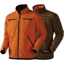 Polaire homme harkila kamko reversible - vert/orange