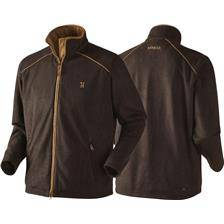 Polaire homme harkila sandhem fleece - marron