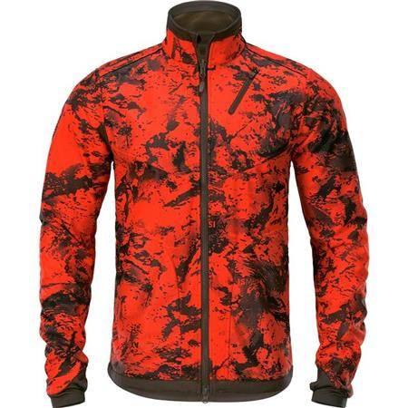 Polaire Homme Harkila Wildboar Pro Fleece Reversible - Vert/Orange