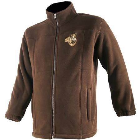 Polaire Homme Somlys 481 Sherpa Sanglier - Marron