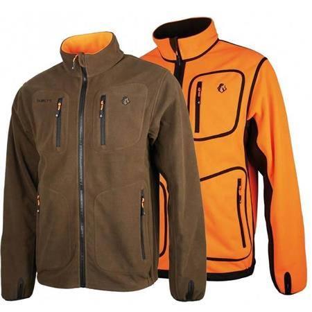 Polaire Homme Somlys 487 Polar Reverse - Marron/Orange